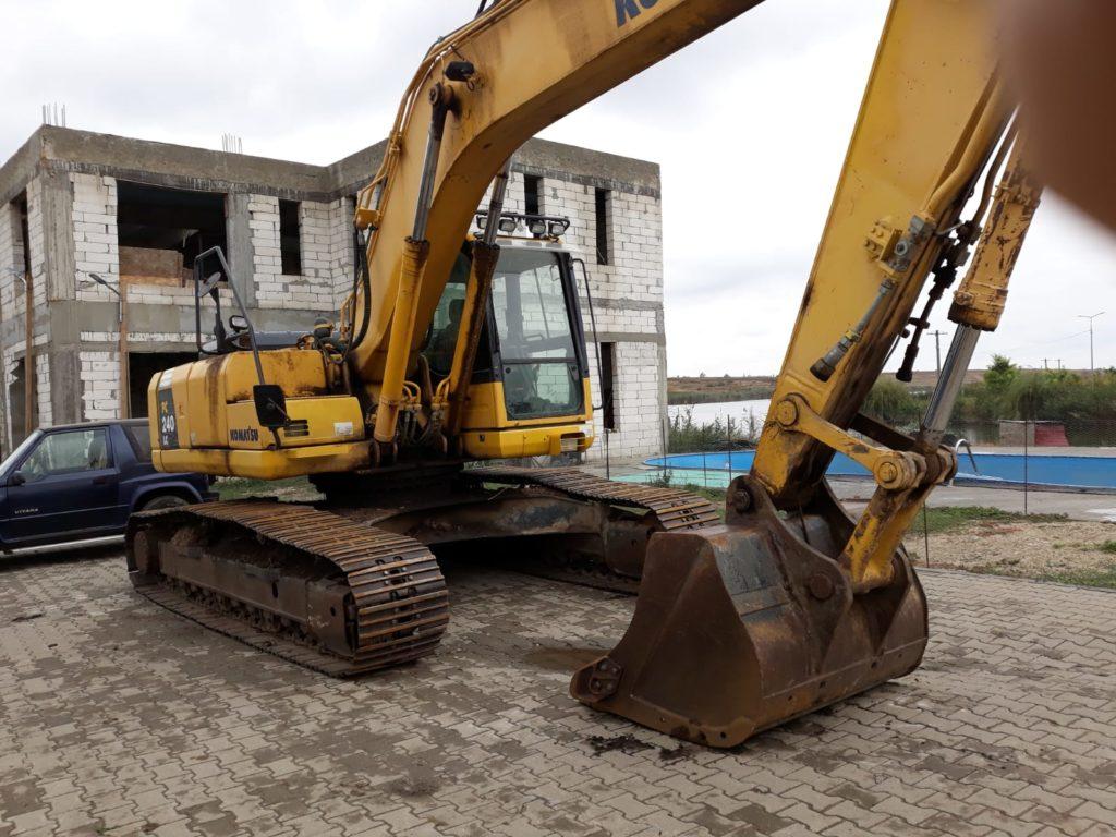evaluare excavator